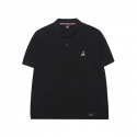 캉골(KANGOL) Basic Polo T-shirts 1709 Black