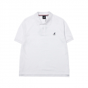 캉골(KANGOL) Basic Polo T-shirts 1709 White