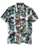 매닉(MANIC) HAWAIAN PINEAPPLE SHIRTS