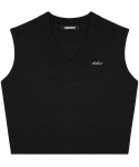 아파트먼트(APARTMENT) (W) Hilda Knit Vest - Black