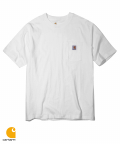 칼하트(CARHARTT) WORKWEAR POCKET T-SHIRT (WHITE)