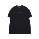 캉골(KANGOL) Text Logo Short Sleeves T 2566 Navy