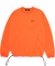 LMC PVC RL STRETCH JERSEY SWEATSHIRT neon orange