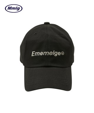 팔칠엠엠서울(87MM_SEOUL) [Mmlg] EMEMELGE BALL CAP (CHARCOAL)