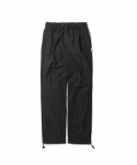 에스피오나지(ESPIONAGE) Wells Warm Up Pants Black