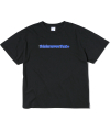 Cracked T-Logo Tee Black