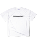 디스이즈네버댓() Cracked T-Logo Tee White