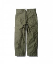 Gilmer 4 Pocket Fatigue Pants Olive