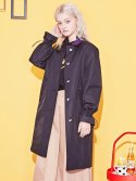 블랭크(BLANK) COLOR LONG COAT-BK