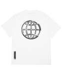 엘엠씨() LMC CHROME EMBLEM TEE white