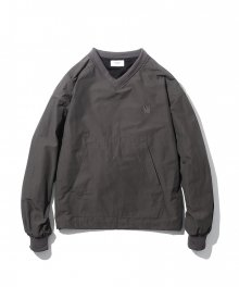 Roslin Warm Up Pullover Shirt Charcoal