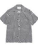 비바스튜디오(VIVASTUDIO) CHECKERBOARD SHIRTS HS [BLACK]