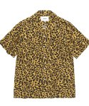 비바스튜디오(VIVASTUDIO) LEOPARD SHIRTS HS [YELLOW]