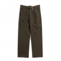 Khaki Wide Belt Pants