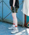 써치410(SEARCH410) (UNISEX) CAMO SHORTS PT_KHAKI