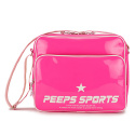 핍스(PEEPS) [핍스] PEEPS retro 80 enamel cross bag(pink)
