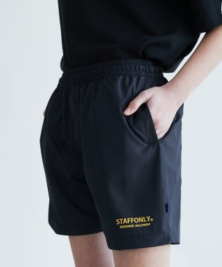 스텝온리(STAFFONLY) PERSONNEL SHORTS (BLACK)