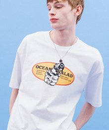 POP PISTOL TEE(WHITE)