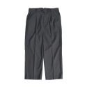 비슬로우(BESLOW) 18SS STANDARD CROP SEMI WIDE SLACKS CHARCOAL