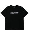 아임낫어휴먼비잉(iamnotahumanbeing) [18SS] NEW BASIC LOGO T-SHIRT - BLACK