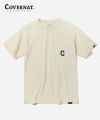 커버낫(covernat) S/S C LOGO EMBROIDERY POCKET TEE CREAM