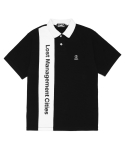 엘엠씨() LMC VERTICAL LOGO PK POLO TEE black