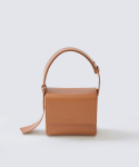 가브리엘리(GABRIELLEE) 18SS MINI LEATHER BAG - BROWN