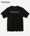 커버낫(covernat) S/S CIRCLE AUTHENTIC LOGO TEE BLACK