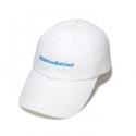 lifeiscoolbecool LOGO 6P CAP white