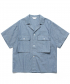 Ancho Wide 1/2 Shirt_Chambray