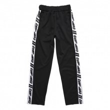 COMIE SIDE TRACK LONG PANTS (BLACK)
