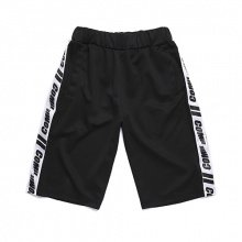 COMIE SIDE TRACK SHORT PANTS (BLACK)