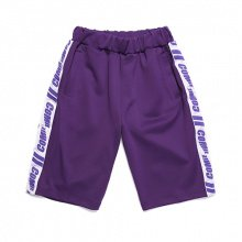 COMIE SIDE TRACK SHORT PANTS (PURPLE)