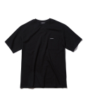 인사일런스(INSILENCE) LOGO POCKET TEE black