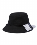 그루브라임(GROOVE RHYME) 2018 LABEL BUCKET HAT (BLACK) [GCA021G13BK]