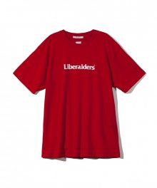 LIBERAIDERS LOGO TEE / RED