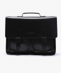 피스메이커(PIECE MAKER) LEATHER SATCHEL BAG LARGE (ALL BLACK)