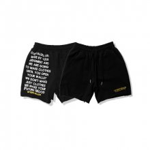01 LOGO PANTS [Black]