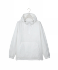 씨이앤(CE AND) [Ce& X WannaOne] Half Zip-up Overfit Anorak White