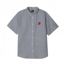 TRS CLASSIC TONGUE STRIPE SHIRT BK (BRENT1713)
