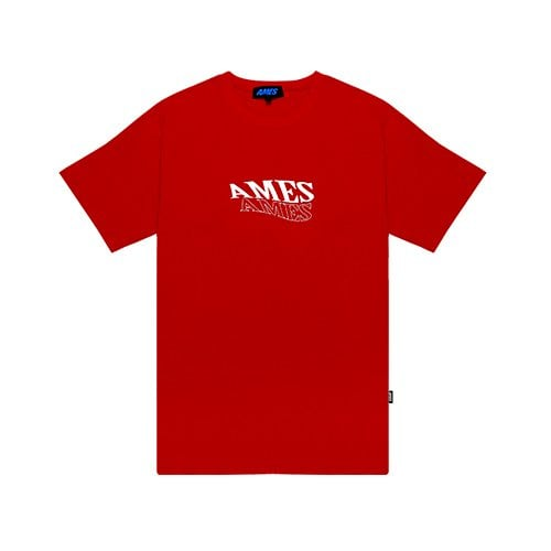 AMES WINDMILL T-SHIRTS RED