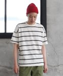 OVERSIZE STRIPE T-SHIRTS (BLACK)