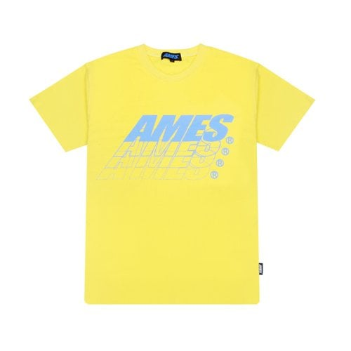 AMES SPREAD T-SHIRTS YELLOW
