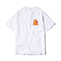 샌드파이퍼(sandpiper) HOT LIP PANNEL T SHIRTS WHITE