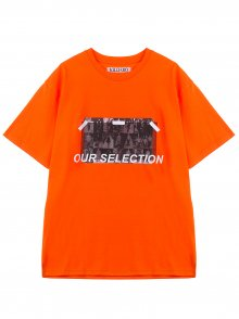 OUR SELECTION TEE - ORANGE