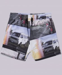 Travel Maker Half Pants - Black
