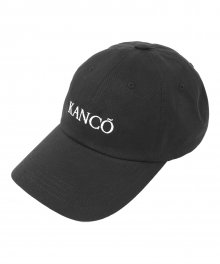 KANCO TYPO LOGO 6 PANEL CAP black