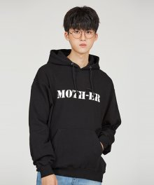 MOTH HOODY [BLACK]
