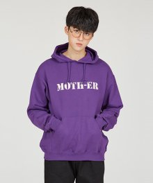 MOTH HOODY [PURPLE]