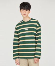MOTH STRIPE TS [GREEN]